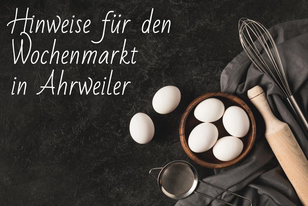 Geflügel H. Huth - Hinweise Wochenmarkt Ahrweiler