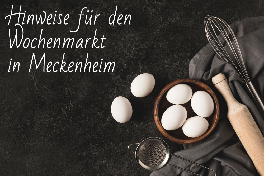 Geflügel H. Huth Hinweis Wochenmarkt Meckenheim