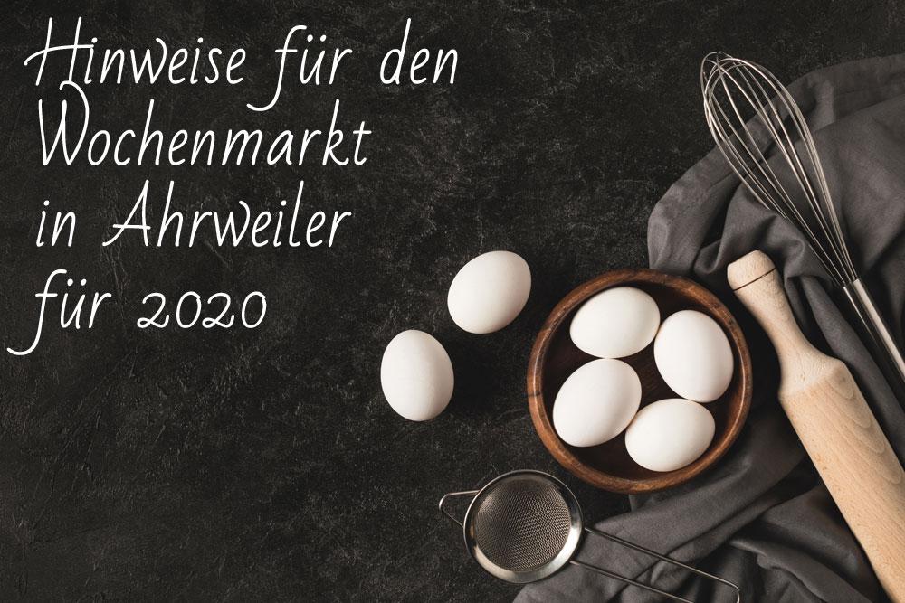 Geflügel H. Huth Wochenmark Ahrweiler 2020